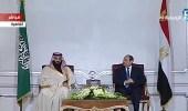 ولي العهد يشهد توقيع عدد من الاتفاقيات مع مصر