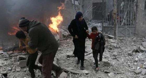 المرصد السوري: حالة ترقب داخل الغوطة لقافلة المساعدات الإنسانية