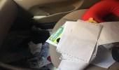 بالصور.. لص يترك رسالة ومبلغ مالي لمواطن بعدما فشل في سرقة سيارته بالرياض