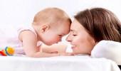 رائحة الأم تنمي عقل الطفل وتشعره بالأمان
