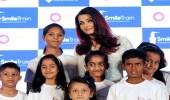 إيشواريا راى تحتفل بنجاح حملة Smile Train
