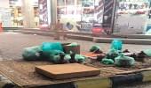 """"""" بلدية صامتة """" تصادر 170 كيلو جرام أغذية فاسدة خلال جولات ميدانية"""