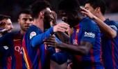 برشلونة يقع في خطأ يشعل غضب الجماهير