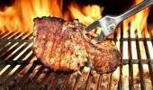 دراسة طبخ اللحوم والأسماك في درجات حرارة عالية يرفع الضغط