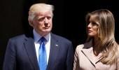 بالفيديو .. موقف يظهر سرعة بديهة ترامب مع زوجته