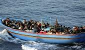 إنقاذ 100 مهاجر غير شرعي شمال أبي كماش في ليبيا