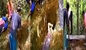 بالفيديو.. دفن امرأة حية مع زوجها المتوفي في تايلاند
