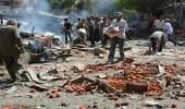 29 قتيلًا في هجوم بصاروخ على سوق في ضاحية بدمشق