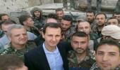 الأسد يلتقط صورًا تذكارية وسط الخراب في سوريا