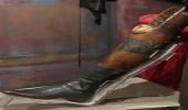 """رئيس مكسيكي يودع ساقه المبتورة بـ """" جنازة رسمية """""""