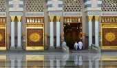 إطلاق شاشات إلكترونية إضافية لبابي السلام وأبي بكر الصديق بالمسجد النبوي
