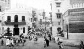 صورة نادرة للشارع الرئيسي في مكة قبل أكثر من 80 عاما