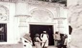 صورة نادرة لمدخل قصر الإمارة بالدمام في الخمسينيات