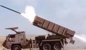 راجمات الصواريخ تستهدف الحوثيين بالحد الجنوبي