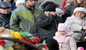 """بالصور.. """" دموع وورود """" في وداع ضحايا المركز التجاري الروسي"""