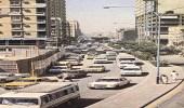 """من ذاكرة الماضي.. صورة نادرة لشارع """" الخزان """" في الرياض"""