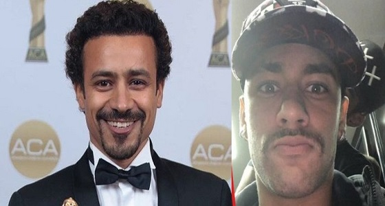 نيمار يثير الجدل بصورة تكشف تشابهه مع ممثل مصري