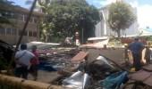مصرع 5 عمال وإصابة 55 آخرون في انهيار مبني وسط الفلبين