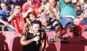 بالصور.. تامر حسني يتألق في حفل الفجيرة وسط حضور جماهيري كبير