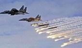 مقاتلات التحالف تستهدف مواقع مليشيا الحوثي الإيرانية بالبيضاء