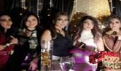 بالصور.. احتفال شيماء سبت بشقيقتها في عيد ميلادها