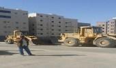 بالصور.. ضبط 55 شخصًا من سائقي المعدات الثقيلة المخالفة شرق الطائف