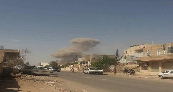 انفجار قوي في مخزن أسلحة يهز صنعاء