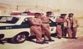 صورة نادرة لأفراد المرور بتبوك ترجع لعام 1404 هـ