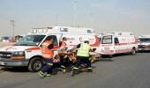 الهلال الأحمر تتلقى 8051 بلاغا متنوعا بين الحوادث والحالات المرضية خلال فبراير
