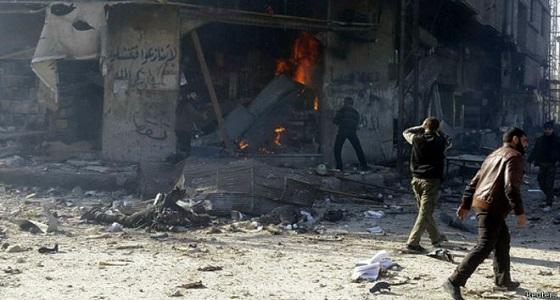 قصف جوي شديد على الغوطة الشرقية و62 شهيد