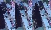 بالفيديو.. مواطن يحتال على بائعة في محل مستلزمات نسائية ويسرق منها مبلغ مالي