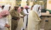 أداء صلاة الميت على ضحية حادث معلمات قران