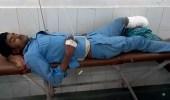 فيديو مروع لمصاب يستخدم قدمه المبتورة كوسادة في مستشفى