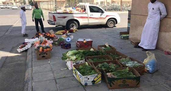 بالصور.. ضبط 27 مخالفا ومصادرة 3355 قطعة من البضائع بالخبر خلال أسبوع