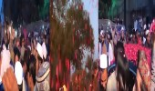 بالفيديو.. باكستانيون يستقبلون إمام المسجد الحرام بالورود ورفع أعلام المملكة