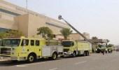 """"""" مدني مكة """" ينقل مريضة تزن 300 كيلو من مستشفى لمنزلها"""
