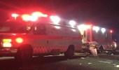 وفاة شخص وإصابة 4 آخرين في حادث انقلاب بطريق مكة القديم