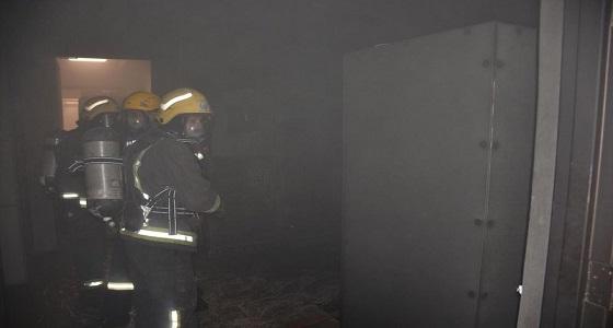 السيطرة على حريق نشب في جامعة الملك عبدالعزيز