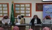 بالصور.. جامعة الملك خالد تقييم محاضرات توعوية في بللسمر وتنومة