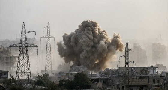 النظام يرتكب مجزرة بالغوطة راح ضحيتها 35 شهيدا وجريحا
