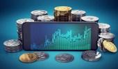 """استقرار العملات الرقمية.. و """" بتكوين """" ترتفع 20% خلال 4 أيام"""