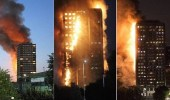 إصابة 7 أشخاص في حريق ببرج سكني بالشارقة