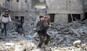 ارتفاع حصيلة القتلى إثر القصف على الغوطة إلى 93 مدنيا