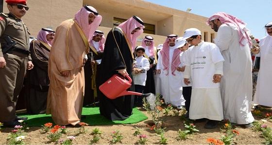 بالصور.. أمير عسير يرعى انطلاق فعاليات أسبوع الشجرة الـ 41
