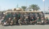 """بالصور.. طلاب """" عمرو بن دينار """" في رحلة لمعرض القوات المسلحة"""