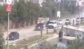 شاهد.. لحظة استهداف موكب رئيس الحكومة الفلسطينية