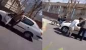 بالفيديو.. إيراني يعتدي على امرأة بطهران وسط المارة