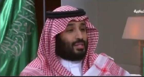 بالفيديو.. الأمير محمد بن سلمان: العلاقات السعودية المصرية صلبة وقوية