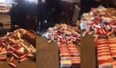 بالفيديو.. إحباط محاولة لتهريب 900 كرز سجائر للمملكة