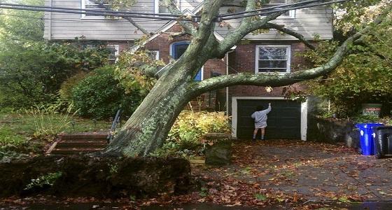 استمرار أزمة انقطاع الكهرباء فى شرق أمريكا بسبب عاصفة قوية